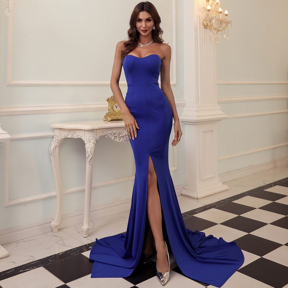 Wednesday Gown - Blue