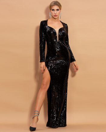 Moda Sequins Gown