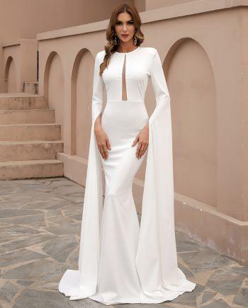 Eudora Gown - White
