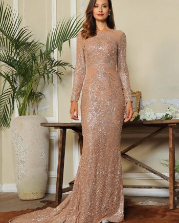 Monica Dress - Champagne-3